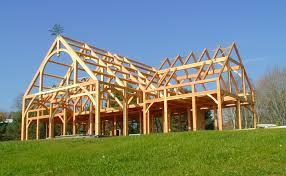 Timber Frame Barn Homes Rockport Post U0026 Beam