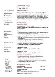 rn resume templates simple leader resume template sle nursing management