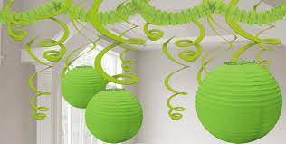 kiwi green decorations paper decorations balloons custom