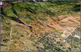 Nevada City Map Ride Report Ash Canyon Trails U2013 Carson City Nevada Dirty Teeth