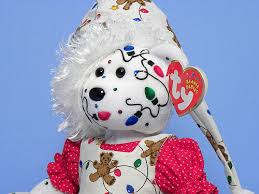 crazy christmas lights ty beanie baby decorated by tina tate