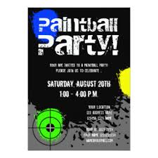 kids paintball birthday party gifts on zazzle