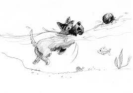 scottie dog drawing dayne sislen children u0027s book illustration