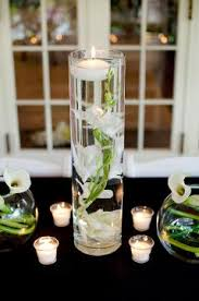diy centerpieces featuring glass vases afloral wedding