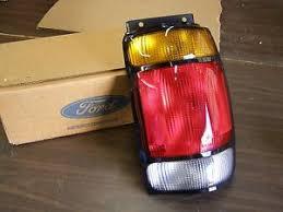 1996 ford explorer tail light assembly nos oem ford 1995 1996 explorer suv tail light l lens rh f5tz