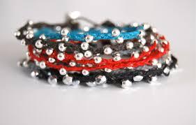 diy braided bracelet with beads images Braided irish linen wrap bracelet tutorial make bracelets jpg