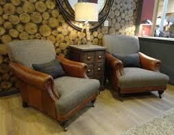 Tetrad Bowmore Chair Tetrad Harris Tweed Taransay Sofa Collection Bracken From George