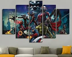 superhero room decor etsy