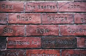 cavern club brick wall bricks and walls