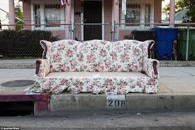 Floral Couches Artist Photographs Abandoned Sofas On Los Angeles Streets Daily