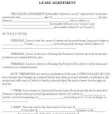 printable lease agreements printable sample room rental agreement