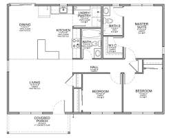 how to a house plan floor plan for affordable 1 100 sf house with 3 bedrooms and 2