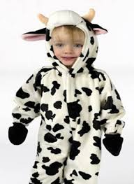 Baby Tiger Halloween Costume Bovine Calf Decorations Costume Fun Baby Calf