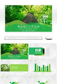 bureau free awesome forestry bureau work summary report ppt templates for free