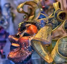 venetian masks for sale venetian masks for sale in the souvenir shop stock photo image of