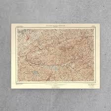 Smoky Mountain National Park Map Great Smoky Mountains National Park Map 1953