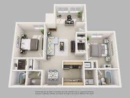 Small 2 Bedroom House Plans Apartment Dazzling 2 Bedroom Apartment Floor Plans 3d Small