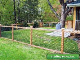 Decorate A Chain Link Fence Best 25 Chain Link Fence Ideas On Pinterest Chain Link Fencing
