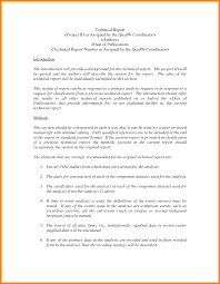 template for technical report 7 technical report template introduction letter