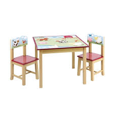 Childs Wooden Desk Furniture Little Table And Chair Set Kids Table And Chairs
