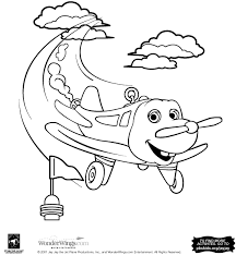 jay jay the jet plane color with snuffy coloring pages pbs kids