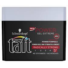 taft power extreme hair gel 250ml online shop internet supermarket
