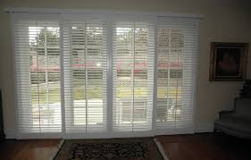 Plantation Shutters On Sliding Patio Doors Patio Door Plantation Shutters Handballtunisie Org