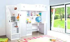 combin lit bureau lit combine mezzanine lit combine lit multifonction momo gris et