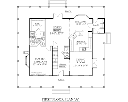 one floor plans with two master suites small one bedroom house plans traditional 1 2 plan