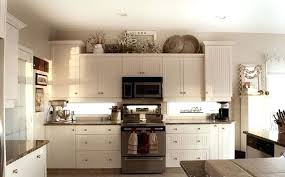 ideas for tops of kitchen cabinets ideas for top of kitchen cabinets frequent flyer