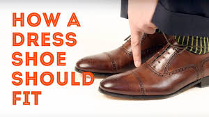 how a mens dress shoe should fit u0026 how to find the right shoe size