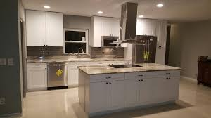 Cinnamon Shaker Kitchen Cabinets Angels Pro Cabinetry White Shaker