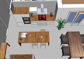 idee cuisine americaine ordinaire plan de travail bar cuisine americaine 10 salon