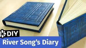 Doctor Who Home Decor by Doctor Who Diy River Song U0027s Diary Tardis Journal Sea Lemon
