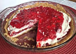 raspberry ribbon pie a thanksgiving tradition she