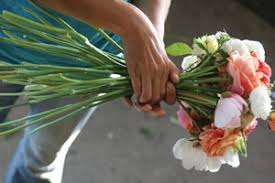how to make a wedding bouquet diy wedding flowers growing for market
