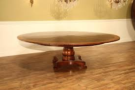Extra Large Round Dining Room Tables Large Round Mahogany Jupe Dining Table Seats 10 12