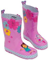 kidorable little girls u0027 or toddler girls u0027 dora the explorer rain