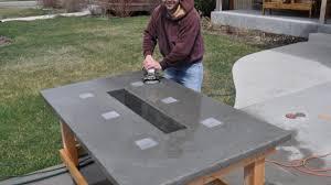 concrete top outdoor table marvelous concrete patio table of cement top outdoor tables holoapp