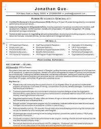 human resources generalist resume lukex co automotive management resume sle essays for business schools