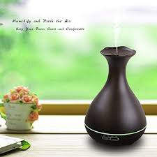 Cool Vase Tenswall Aromatherapy Essential Oil Diffuser Whisper Quiet Cool