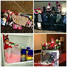 domestic femme 50 elf on the shelf ideas