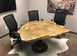 marble conference room table kc custom hardwoods live edge conference room table