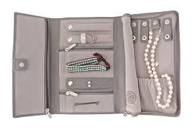 Pottery Barn Travel Jewelry Case Amazon Com Saffiano Leather Travel Jewelry Case Jewelry