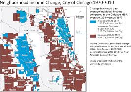 Chicago Demographics Map by A Deepening Divide Income Inequality Grows Spatially In Chicago