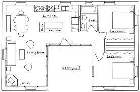u shaped house pentagon shaped house plans u shaped house floor plans unusual