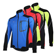thermal cycling jacket long sleeve winter warm thermal cycling jacket arsuxeo windproof