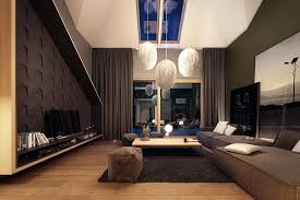 Lofted Luxury Design Ideas Apartment Interior Design Ideas Home Designs Tiled Suburban Glass
