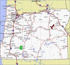 map of oregon i 5 oregon map interstate 5