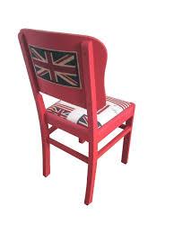 chaise ée 70 chaise de bureau motif angleterre voyage sponsorisé